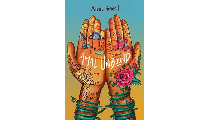 Aisha Saeed's new novel 'Amal Unbound.'