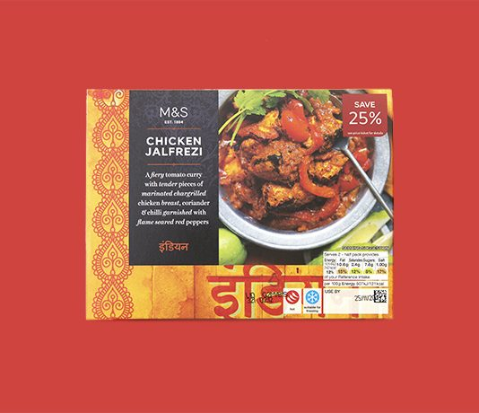 Marks and Spencer Indian food