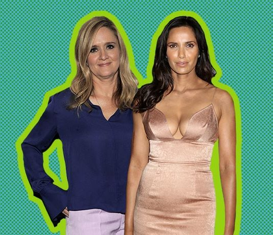 padma lakshmi, thank you campaign, full frontal with samantha bee